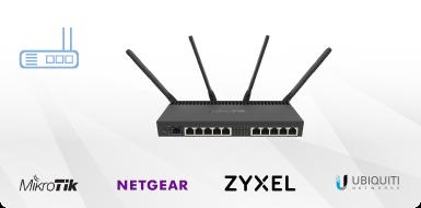 Sortiment von Netzwerkgeräten bei Esus IT