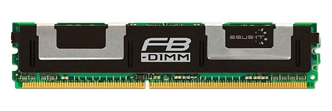Pamięć RAM 1x 1GB Hynix ECC FULLY BUFFERED DDR2 667MHz PC2-5300 FBDIMM | HYMP512F72CP8D3-Y5